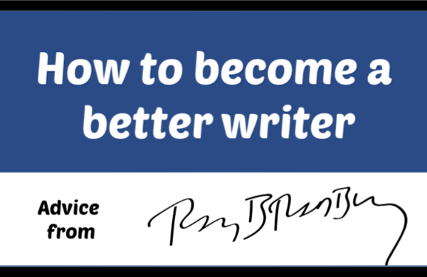 Become a better writer by learning from Bradbury